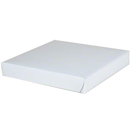 Southern Champion White Pizza Box - 10 x 10 x 1 1/2 Twin Ports Paper