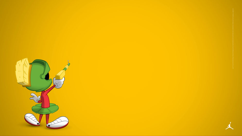 Jordan Logo 3d Wallpaper Collect All 11 Just Released Marvin The Martian Wallpapers