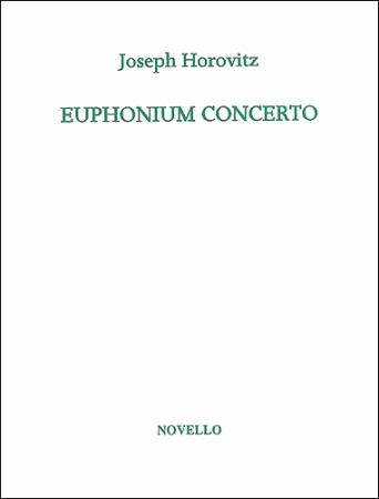 EUPHONIUM CONCERTO (treble/bass clef) Sheet Music Horovitz,