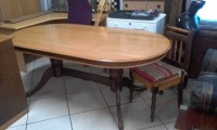 Yellow Wood Table, 4 Chairs And Sideboard | East Rand ...