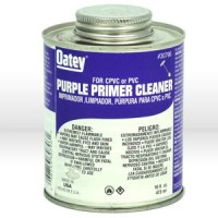 Products For Industry. 30796 Oatey Lo-Voc PVC Pipe Primer ...
