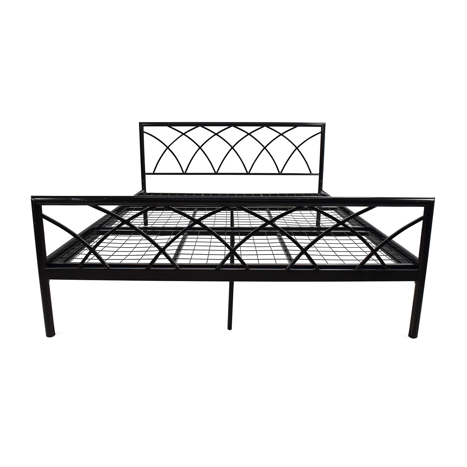 Size Of Queen Bed 75 Off Overstock Queen Size Metal Bed Frame Beds