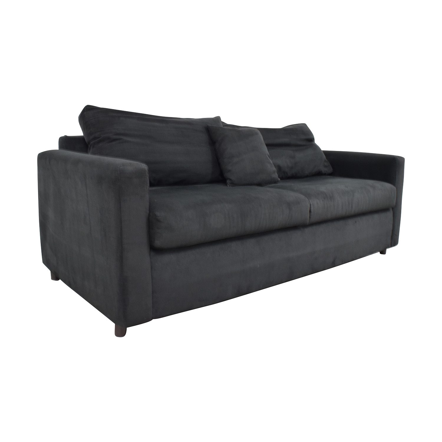 Sofa For Sale Online 78 Off Bob S Discount Furniture Bob S Furniture Black Micro Suede Couch Sofas