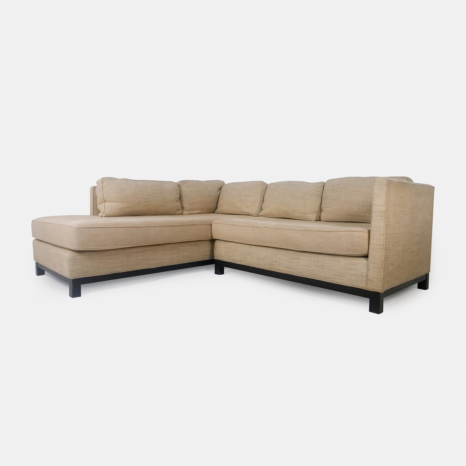 Eck Sofas 51 Off Mitchell Gold Bob Williams Mitchell Gold Beige Sectional Sofas