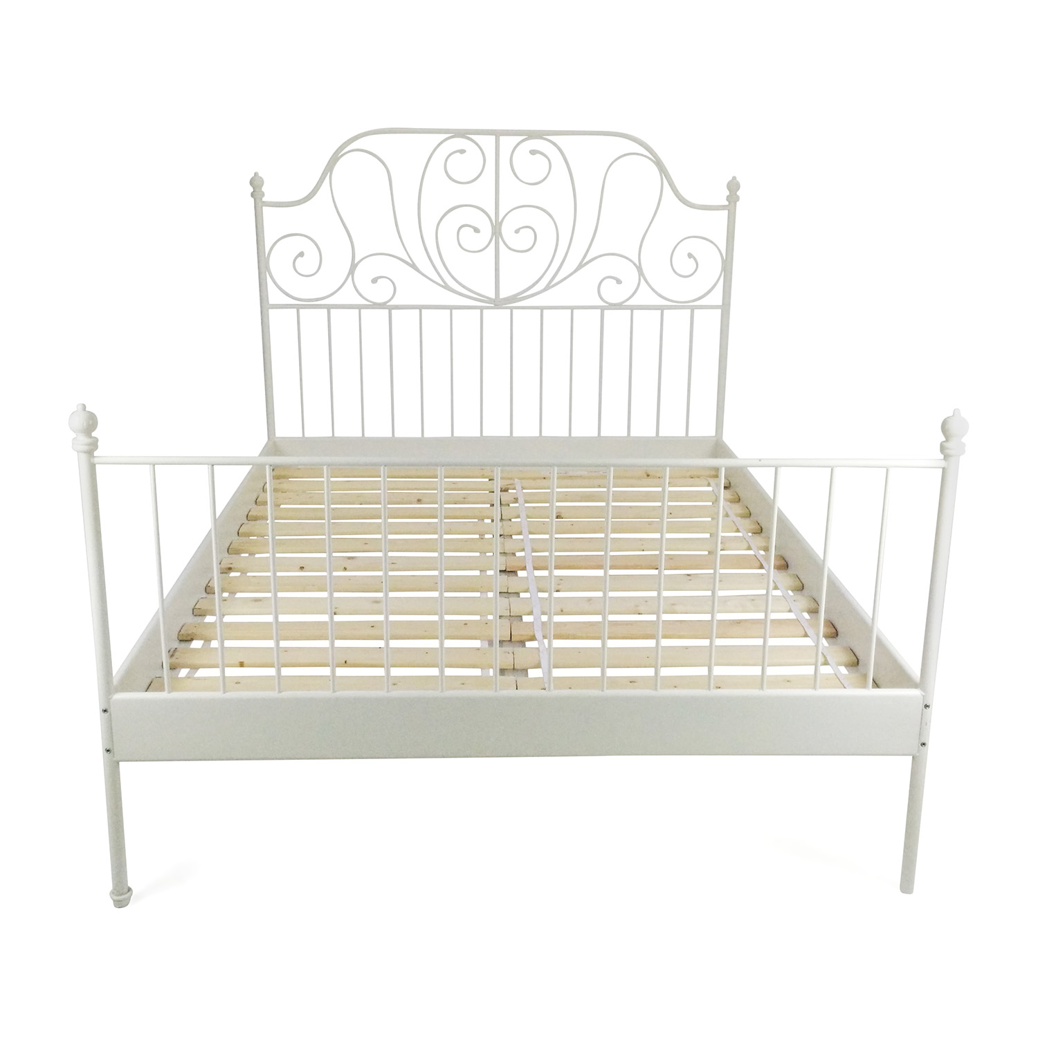 Ikea Iron Bed 70 Off Ikea Ikea Queen Sized Iron Bed Frame Beds