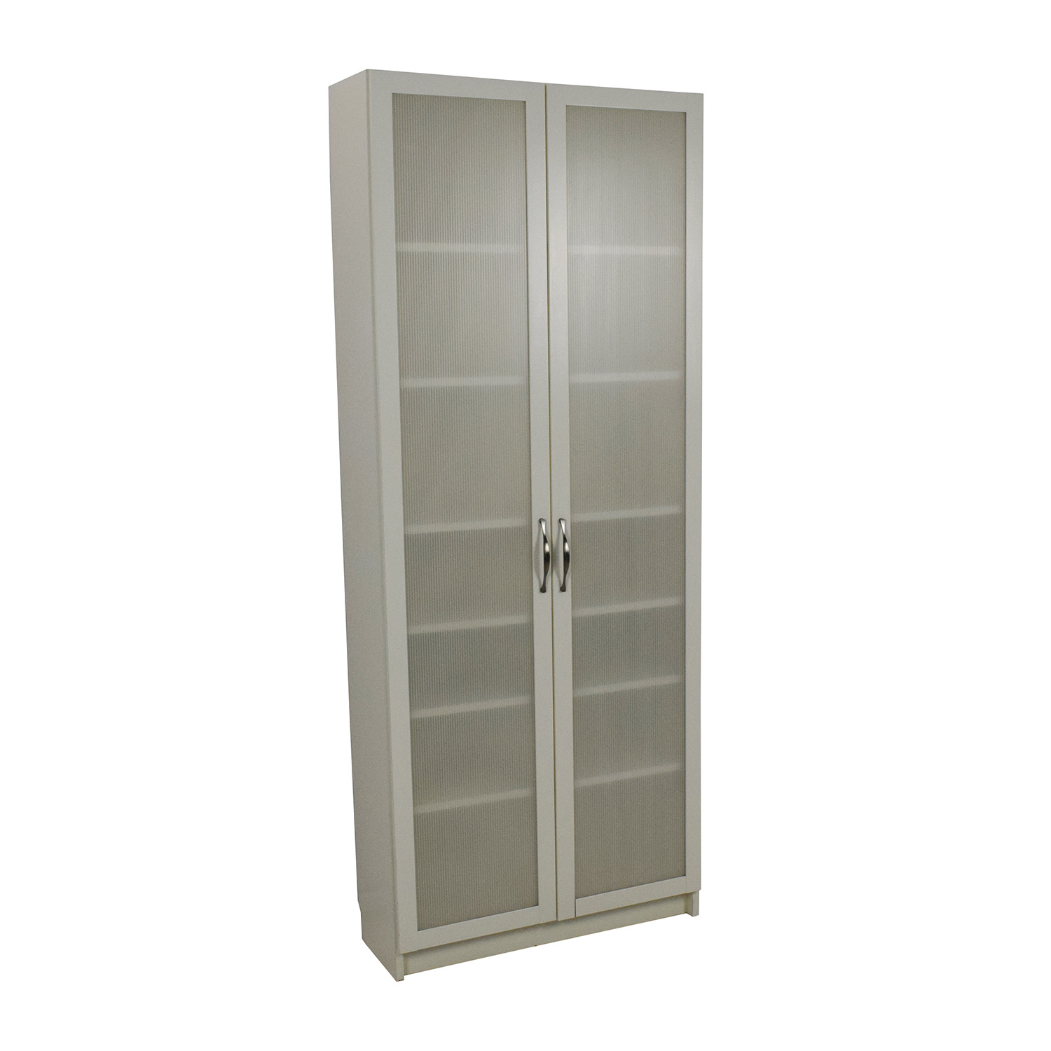 Ikea Storage Cabinets 56 Off Ikea Ikea White Glass Door Cabinet Storage