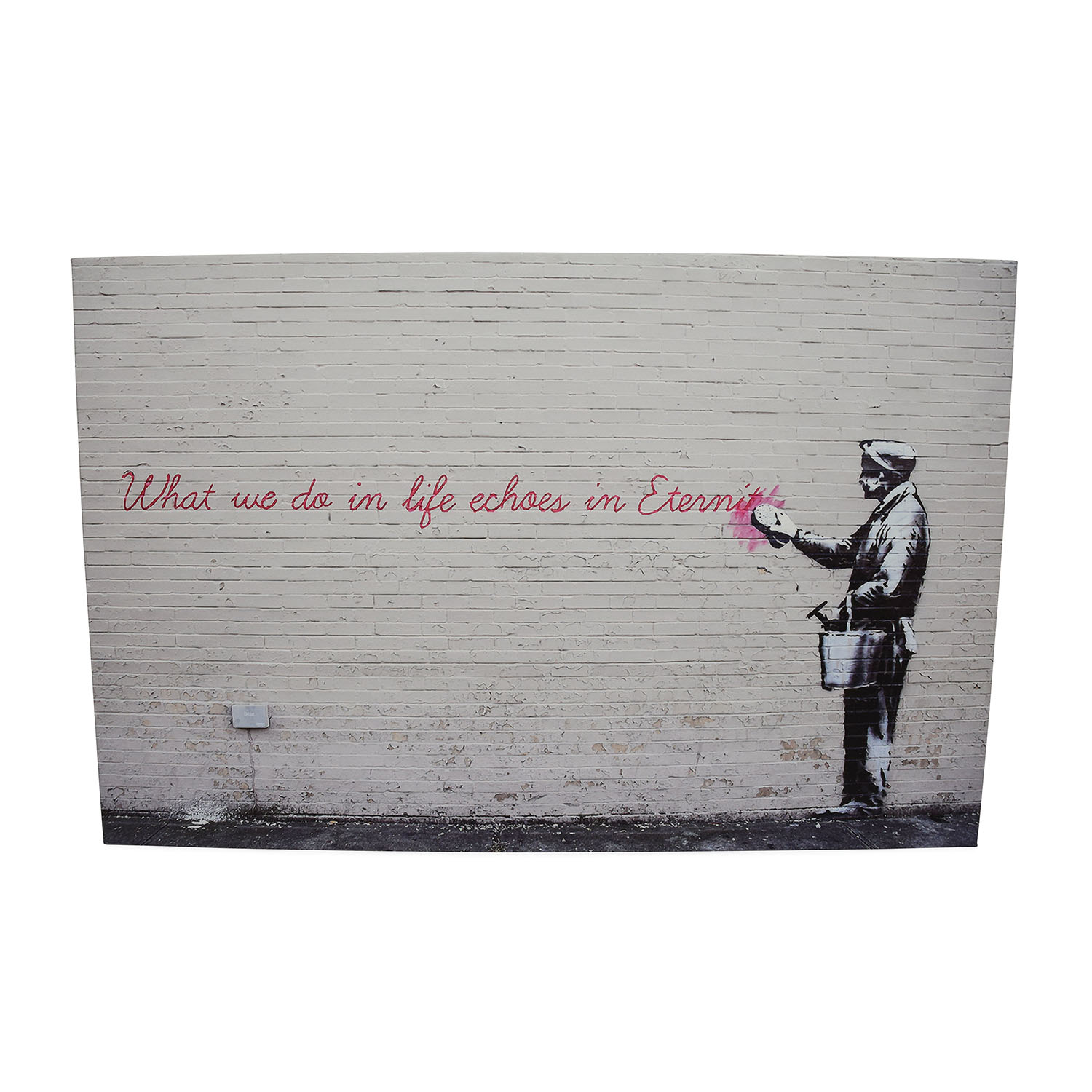 Banksy Canvas Art 53 Off Canvas Art Wall Painting Decor
