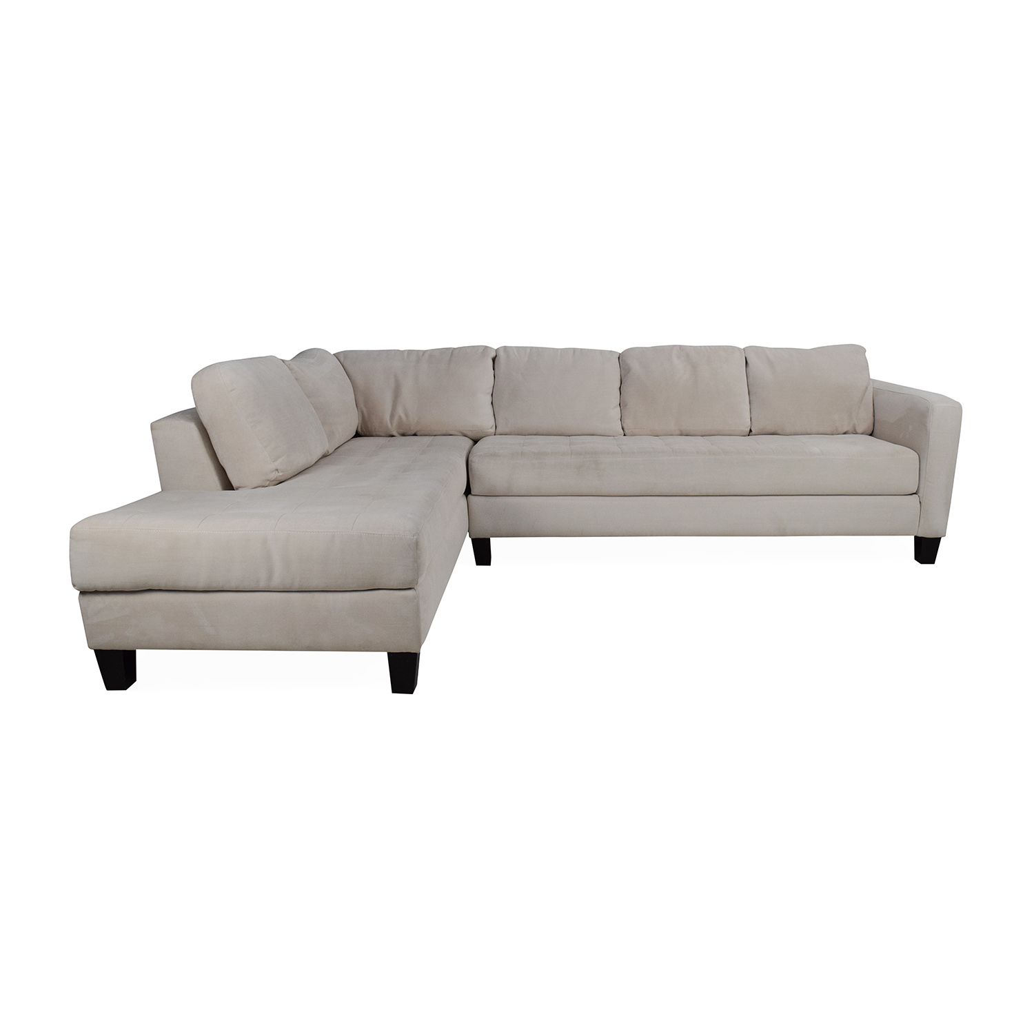 Microfiber Sectional Sofa 65 Off Macy S Macy S Milo Fabric Microfiber Sectional Sofas