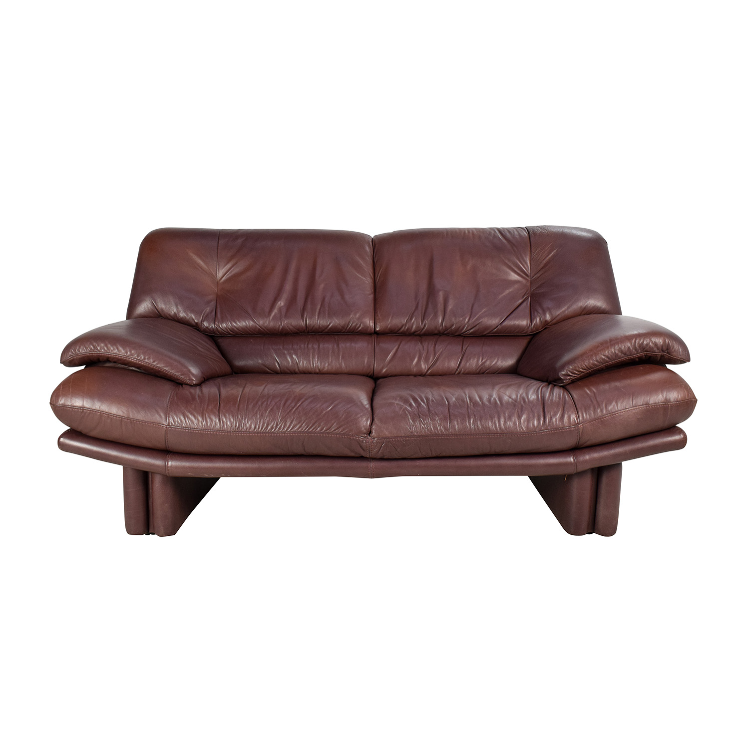 Sofas Online Valencia 67 Off Maurice Villency Maurice Villency Brown Leather Sofa Sofas