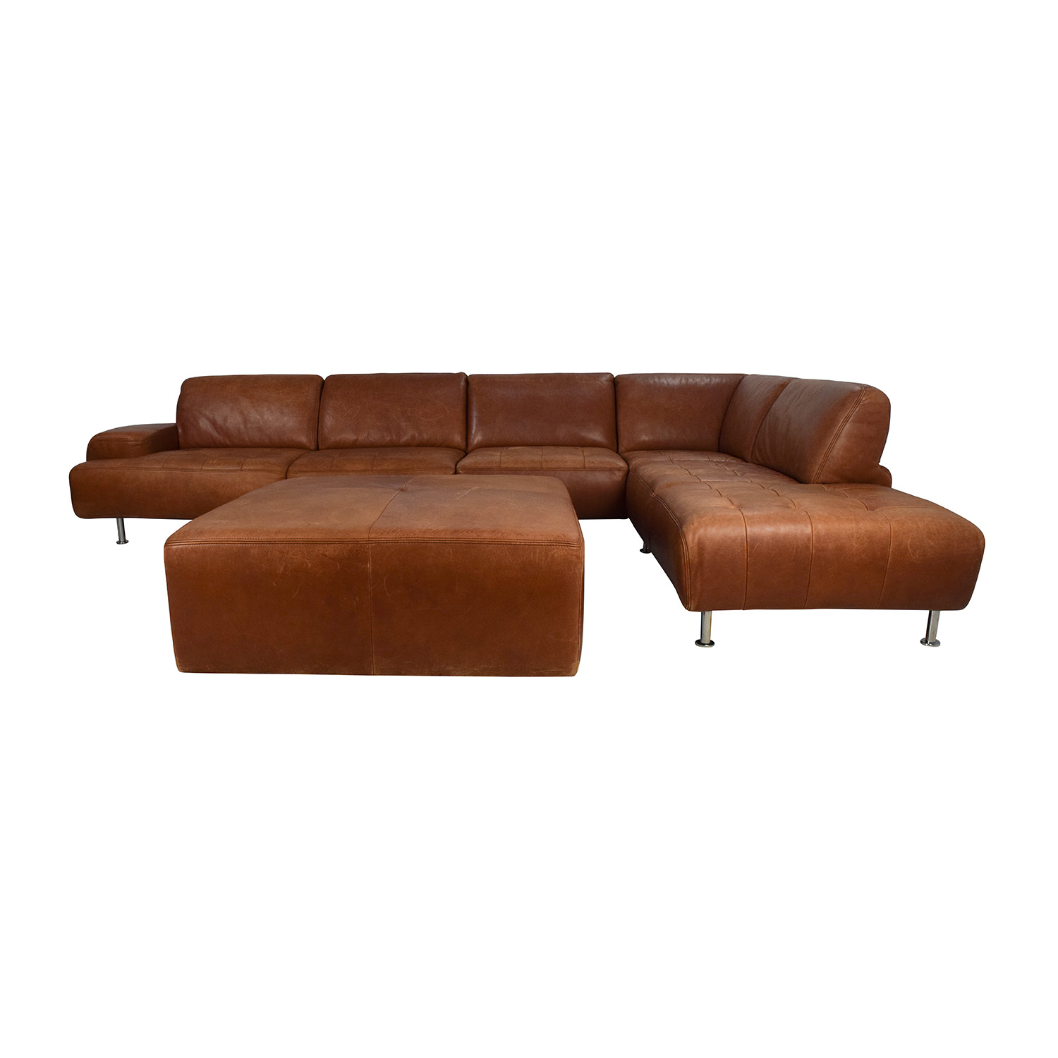Willi Schillig Ecksofa Longlife Leder 53 Off W Schillig W Schillig Leather Sectional And Ottoman Sofas