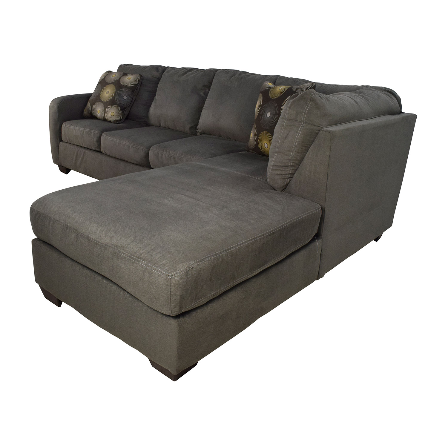 Sectional Bed Sofa 30 Off Ashley Furniture Ashley Furniture Waverly Gray Sectional Sofa Sofas