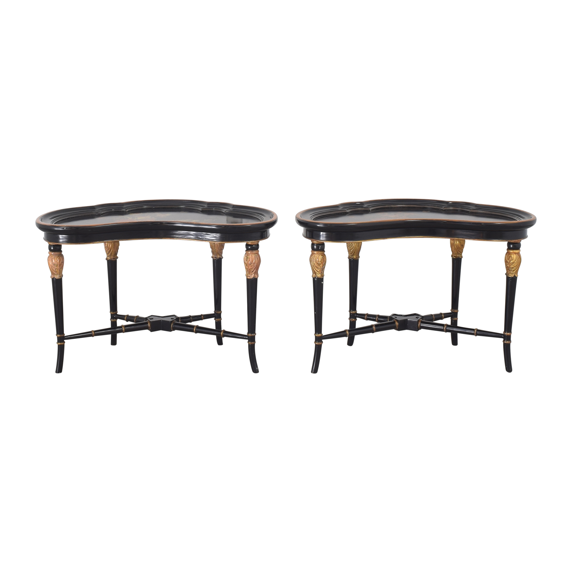 89 Off Maitland Smith Maitland Smith Hand Painted End Tables Tables