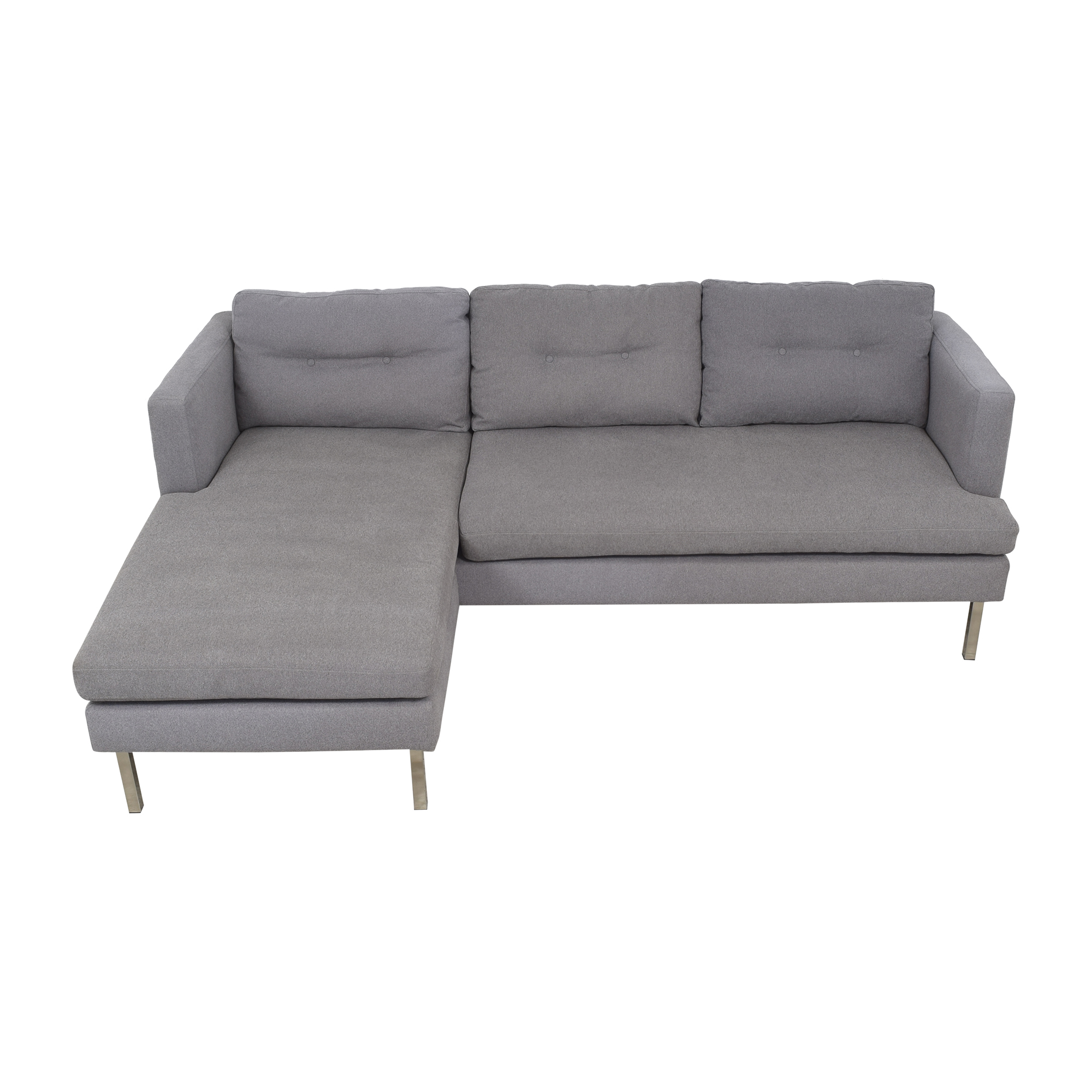 13 Off West Elm West Elm Modern Sectional Sofa With Chaise Sofas