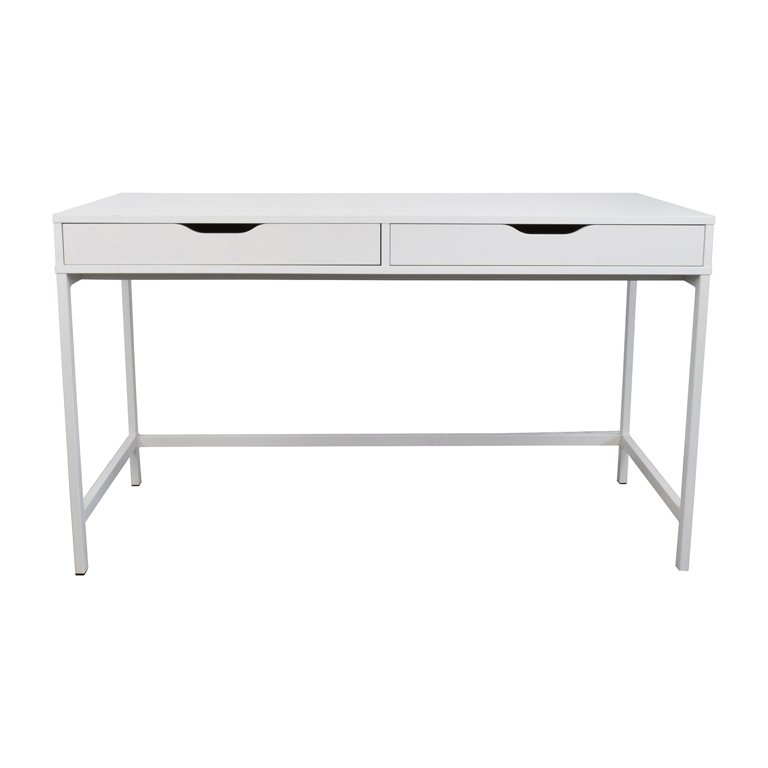 White Office Desk 59 Off Ikea Ikea Alex White Desk Tables