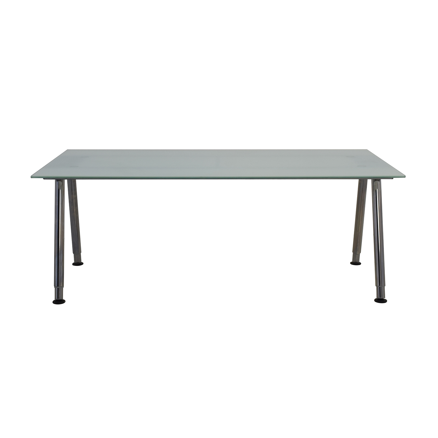 Ikea Table 69 Off Ikea Ikea Galant Glass Top Desk Tables