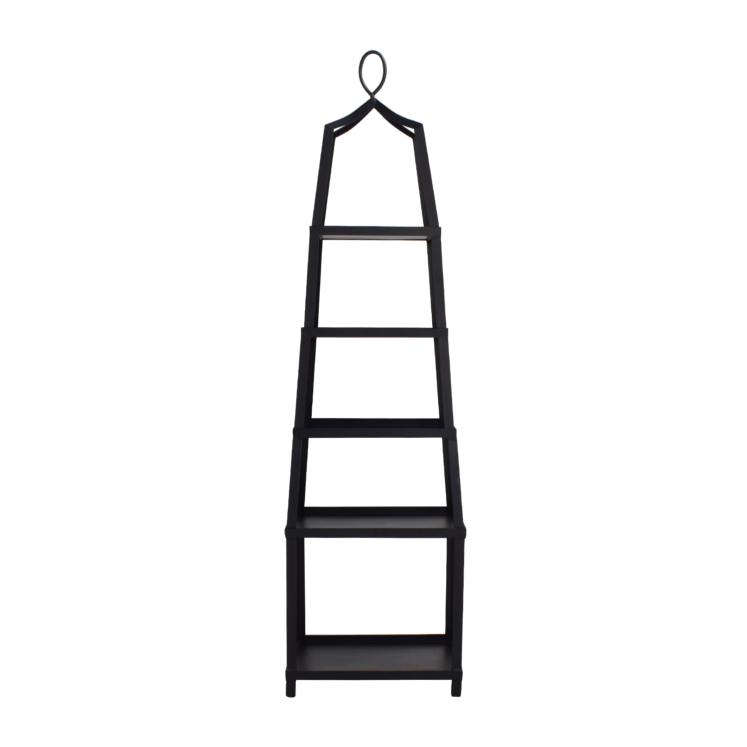 Etagere Metal 70 Off Ballard Designs Ballard Design Grand Tour Black Metal Etagere Storage
