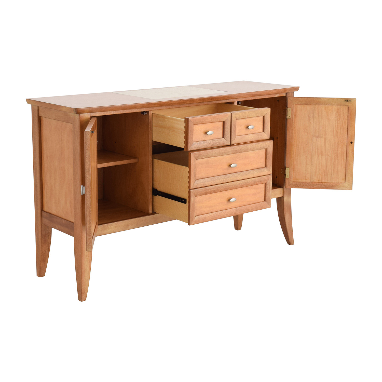 Buffet Table For Sale 90 Off Thomasville Thomasville Buffet Table Storage
