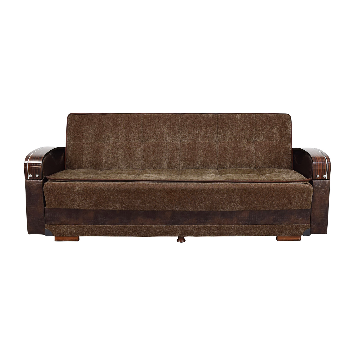 Sofa Mart Sale 85 Off Sleep Mart Sleep Mart Natural Collection Prestige Brown Futon Sofa Sofas