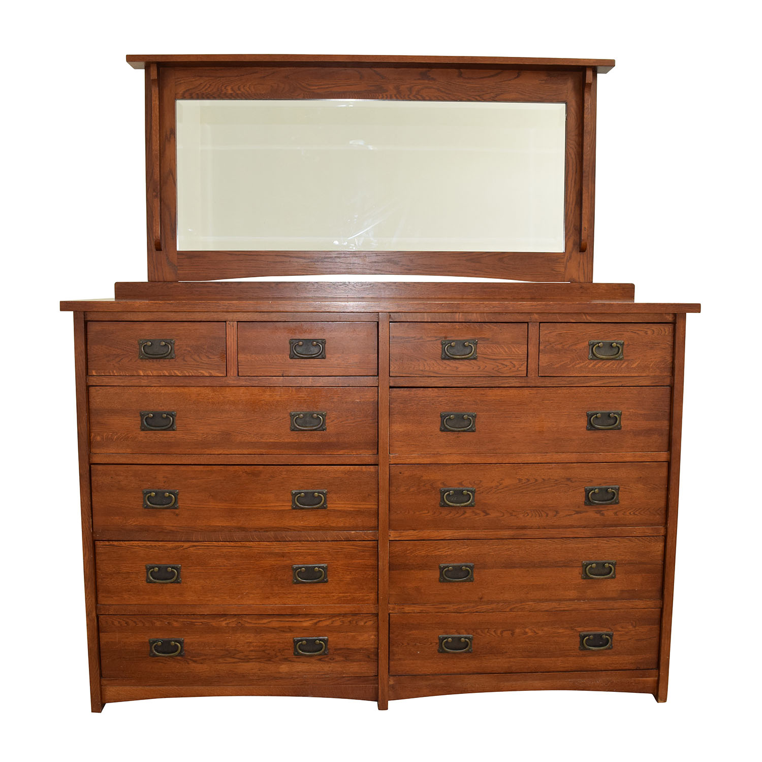 12 Drawer Chest Of Drawers 61 Off Mastercraft Furniture Mastercraft Collections Prairie Mission 12 Drawer Dresser Storage