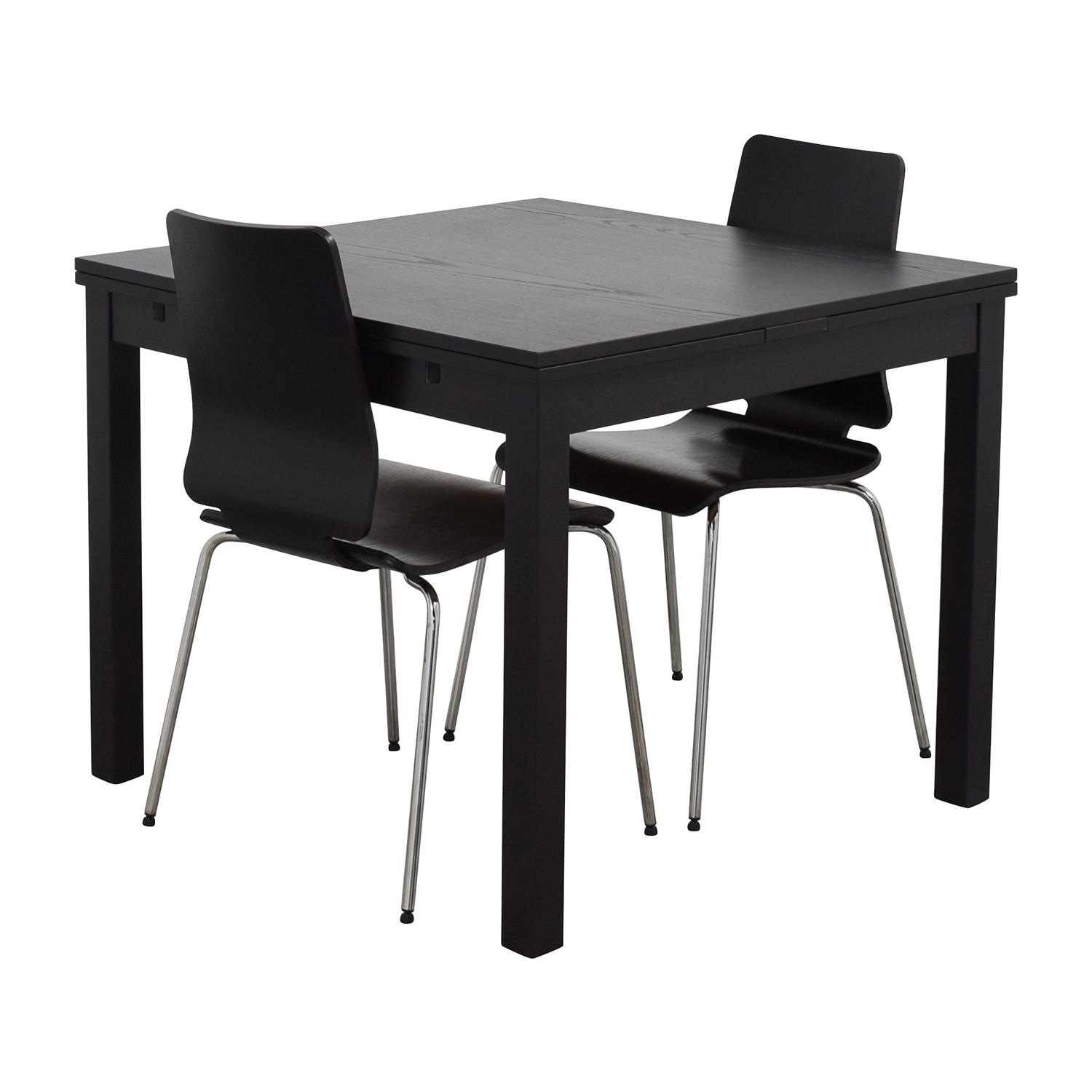 Ikea Dining Table 70 Off Ikea Ikea Three Piece Dining Set In Black Tables