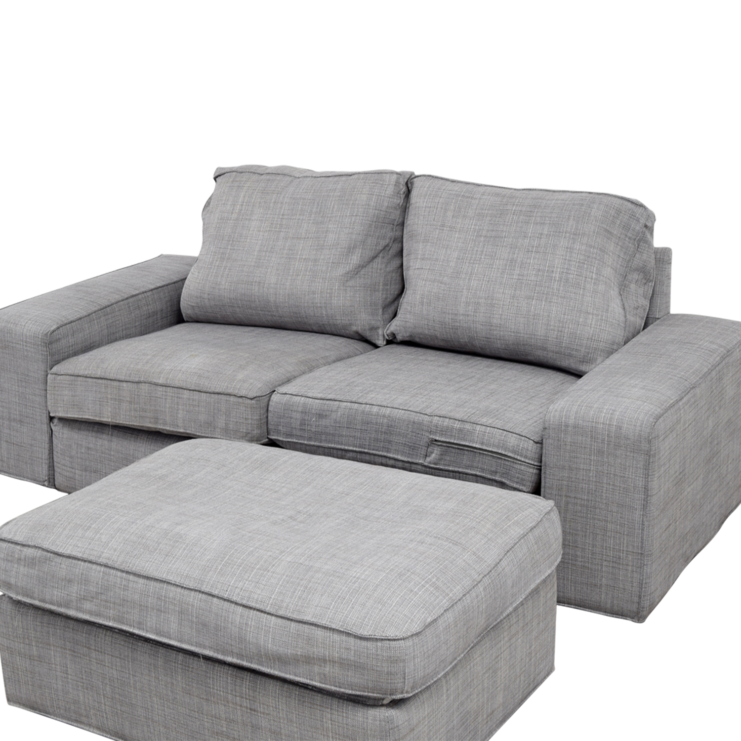 Ikea Kivik Sofa 64 Off Ikea Ikea Kivik Gray Sofa And Ottoman Sofas