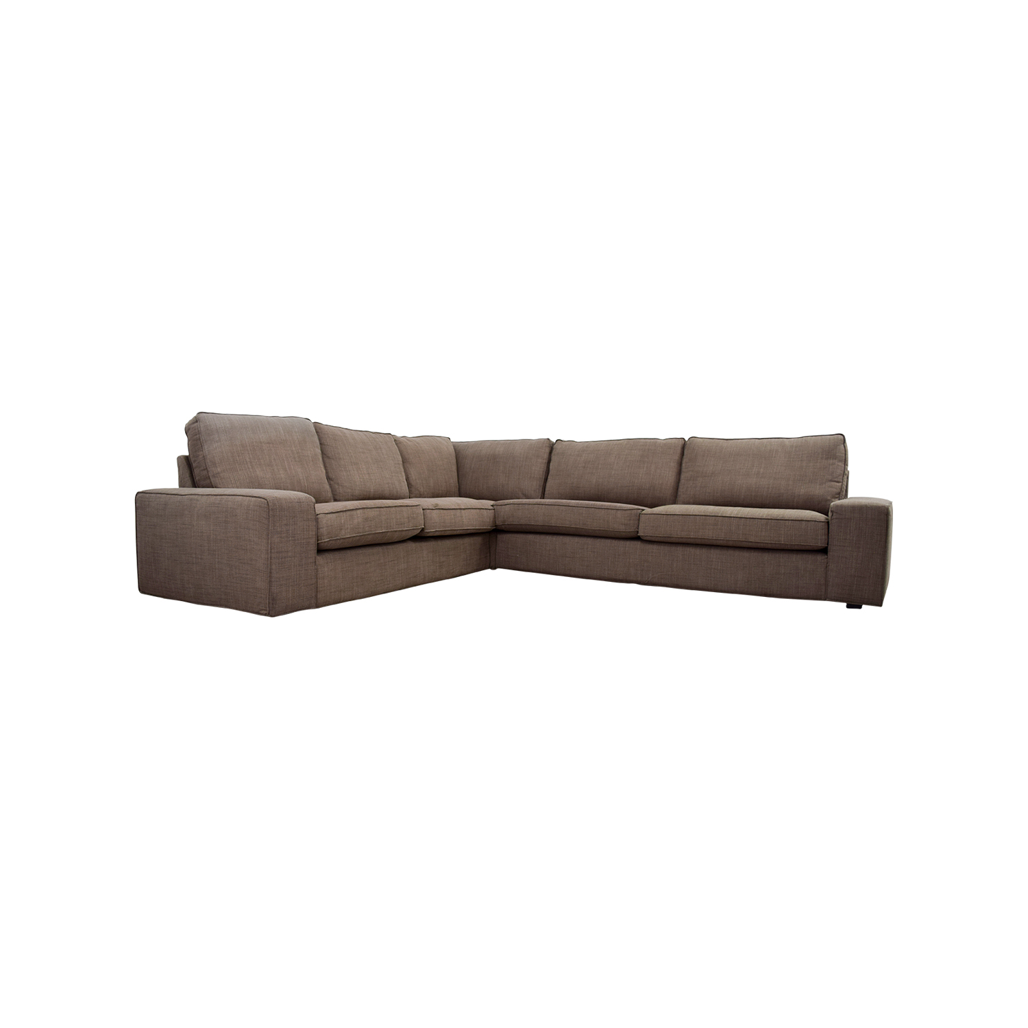 Kivik Sectional 57 Off Ikea Ikea Kivik Brown Sectional Sofas