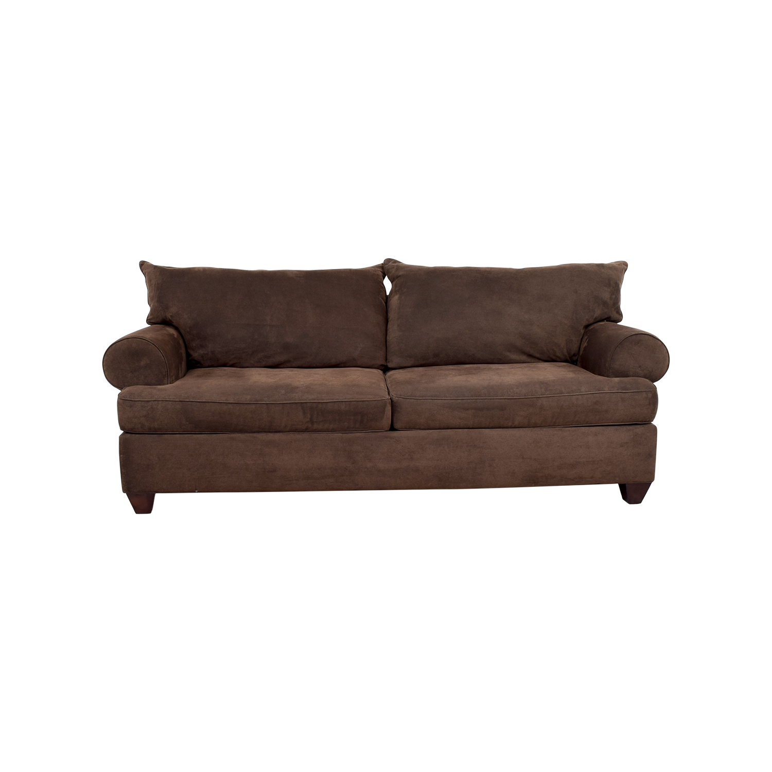 Corduroy 3 Seater Sofa 47 Off Brown Corduroy Two Cushion Couch Sofas