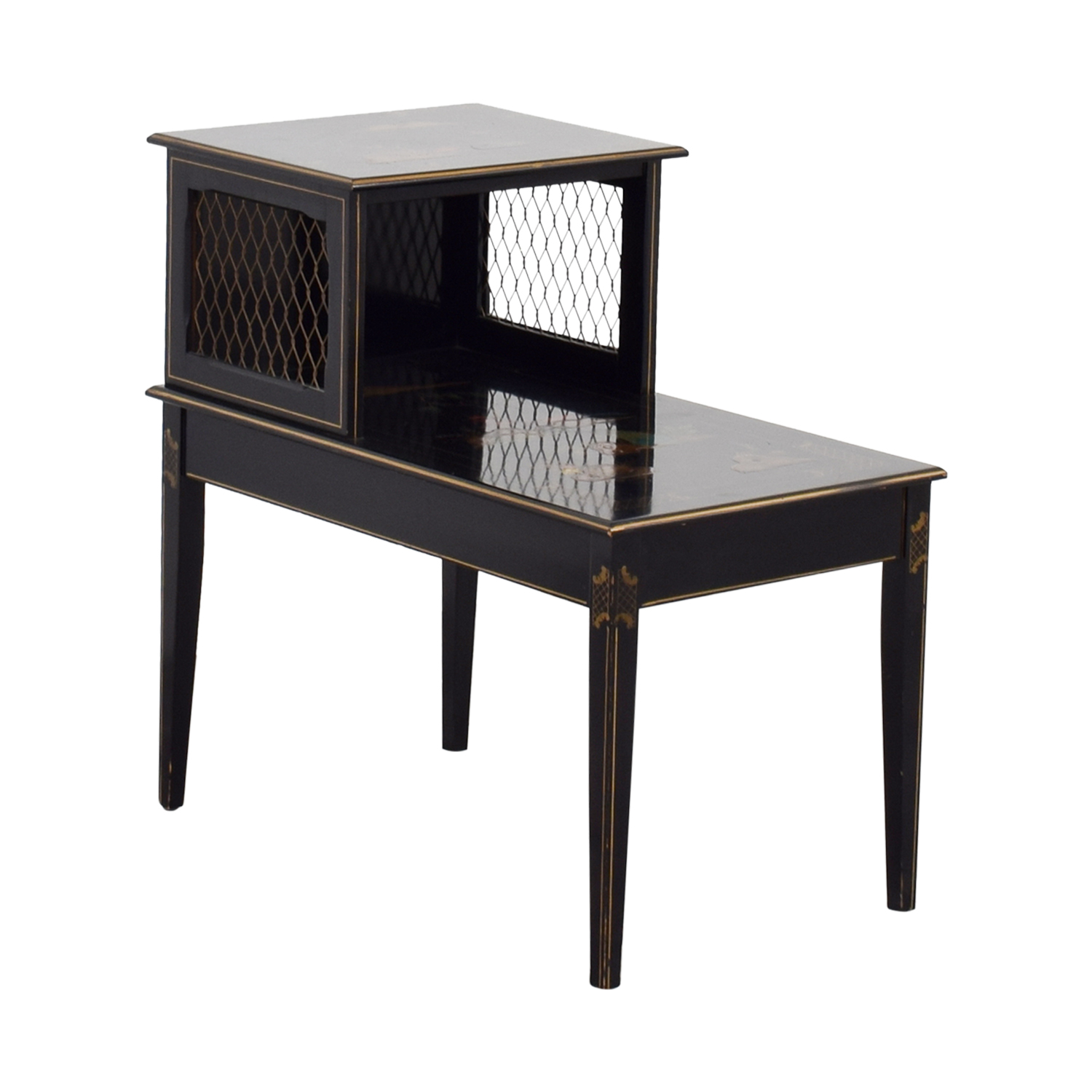 90 Off Katherine Henick Antique Katherine Henick Painted End Table Tables