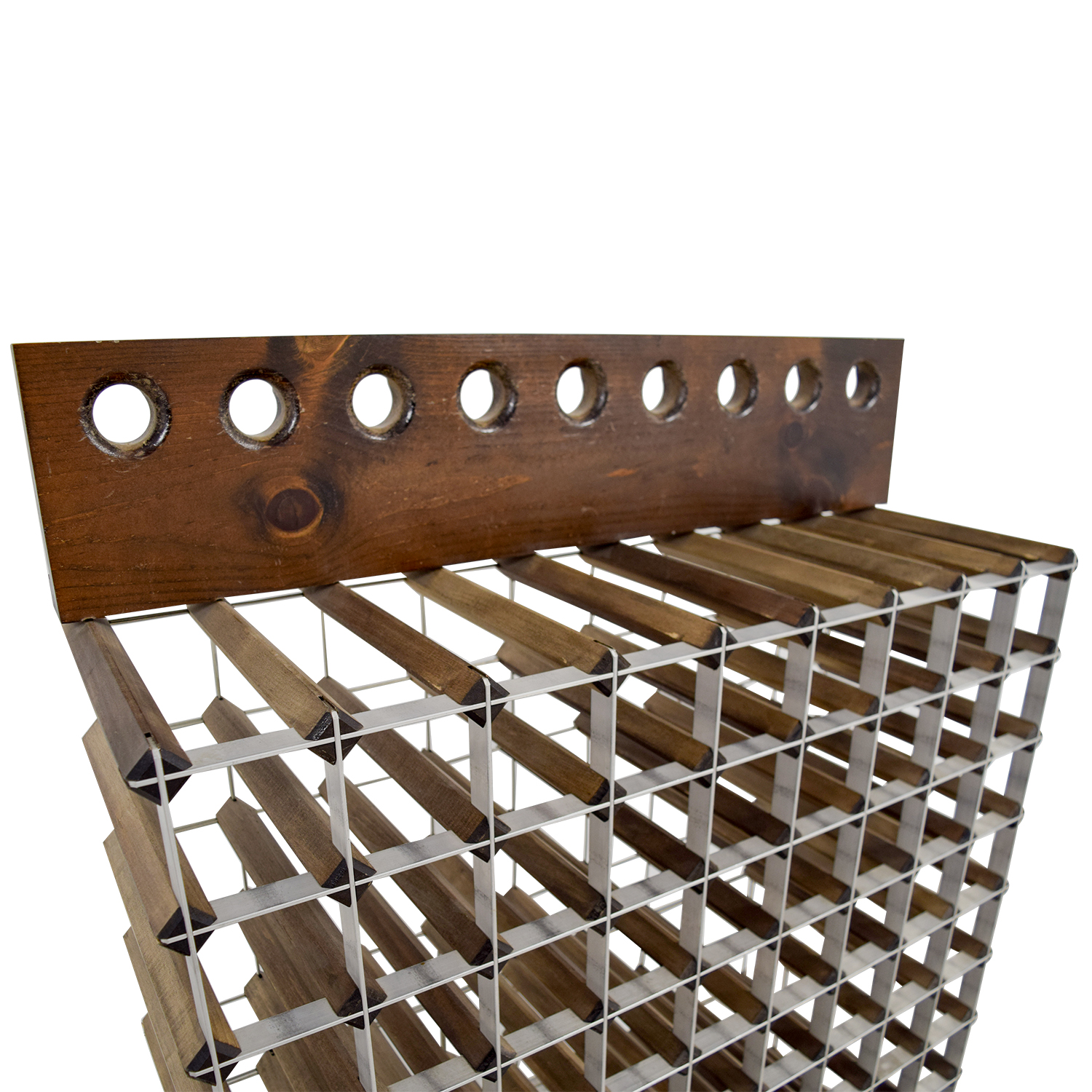 Metal Wine Storage Racks 90 Off Custom Wood And Metal Wine Rack Storage