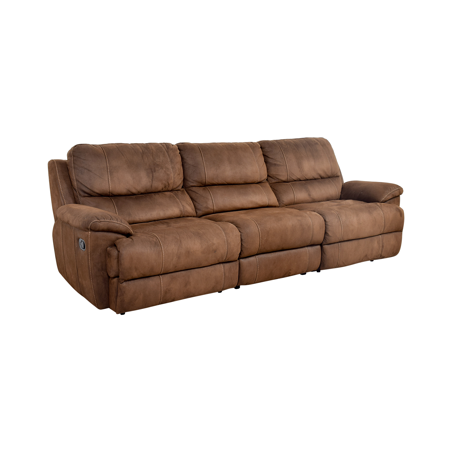 88% OFF - Havertys Haverty's Reclining Sofa / Sofas