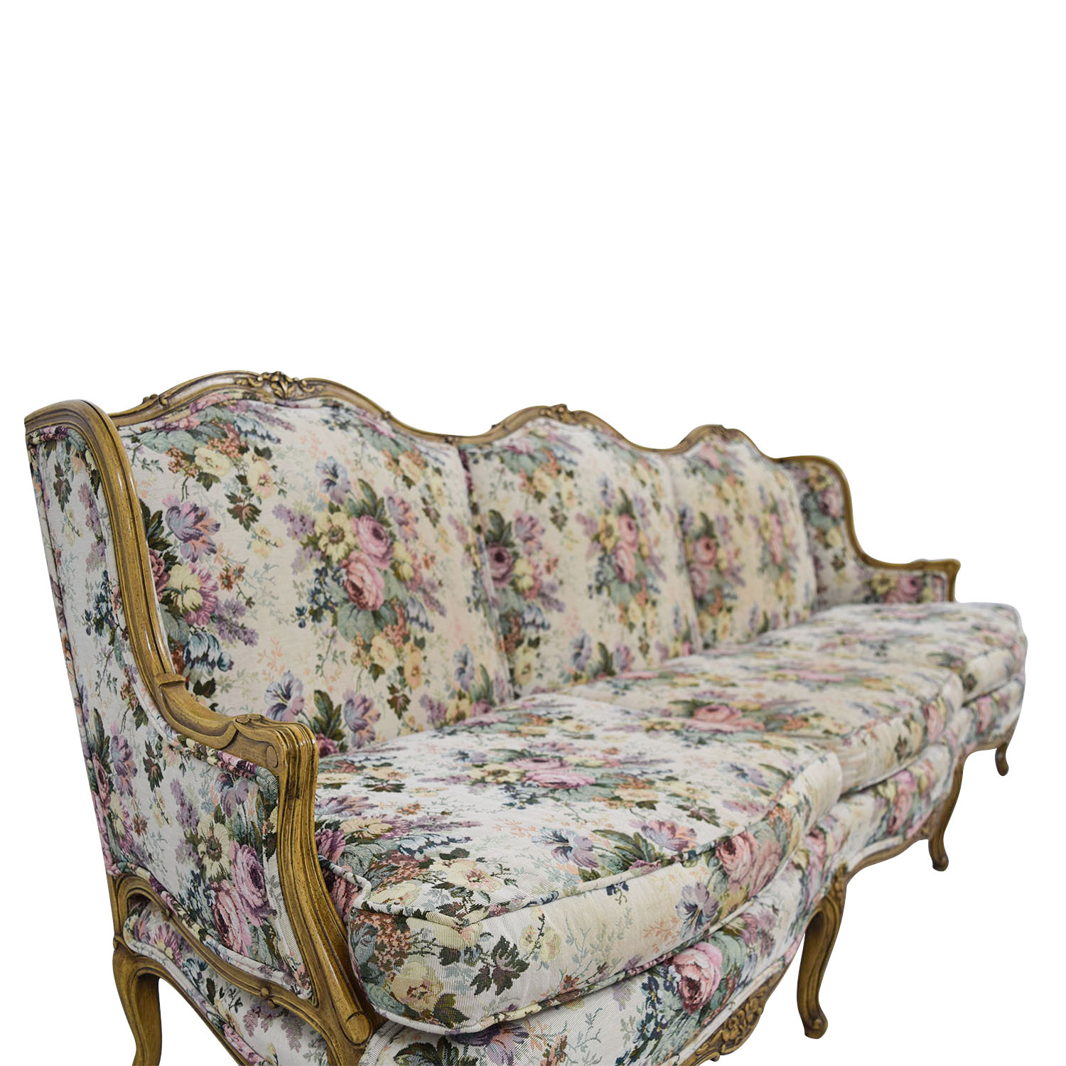 Vintage Couch 87 Off Vintage Floral Sofa Sofas