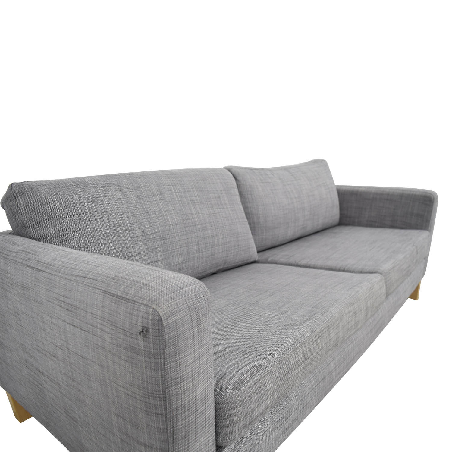 Couch Ikea 81 Off Ikea Ikea Grey Two Cushion Couch Sofas