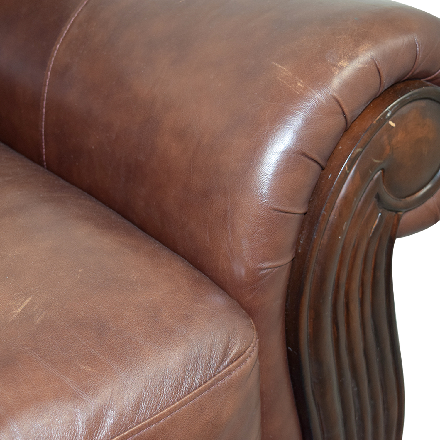 Accent Chairs To Go With Brown Leather Sofa 54 Off Rooms To Go Rooms To Go Brown Leather Chair And Ottoman Chairs