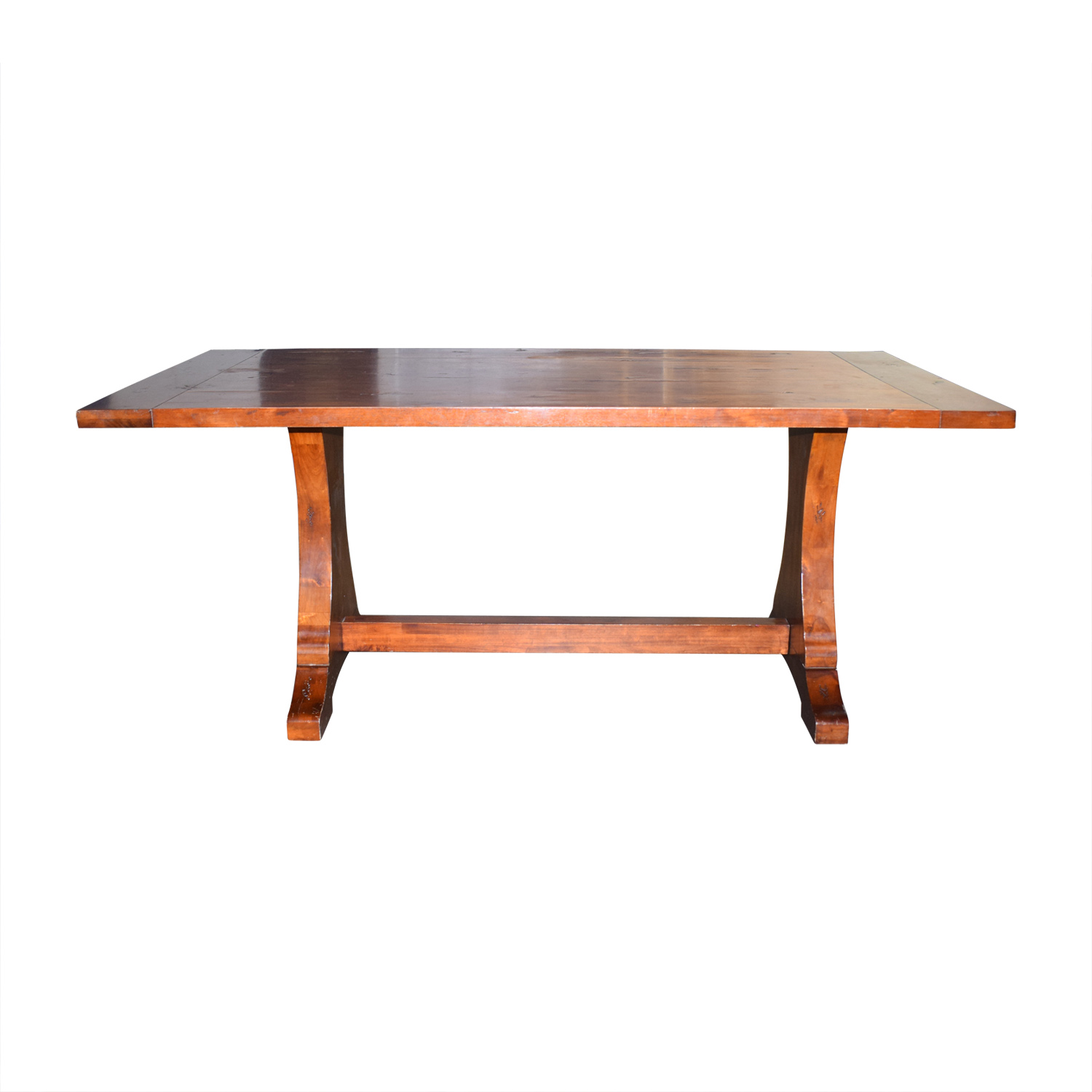 Dining Table Designs 78 Off Ballard Designs Ballard Designs Solid Walnut Dining Table Tables