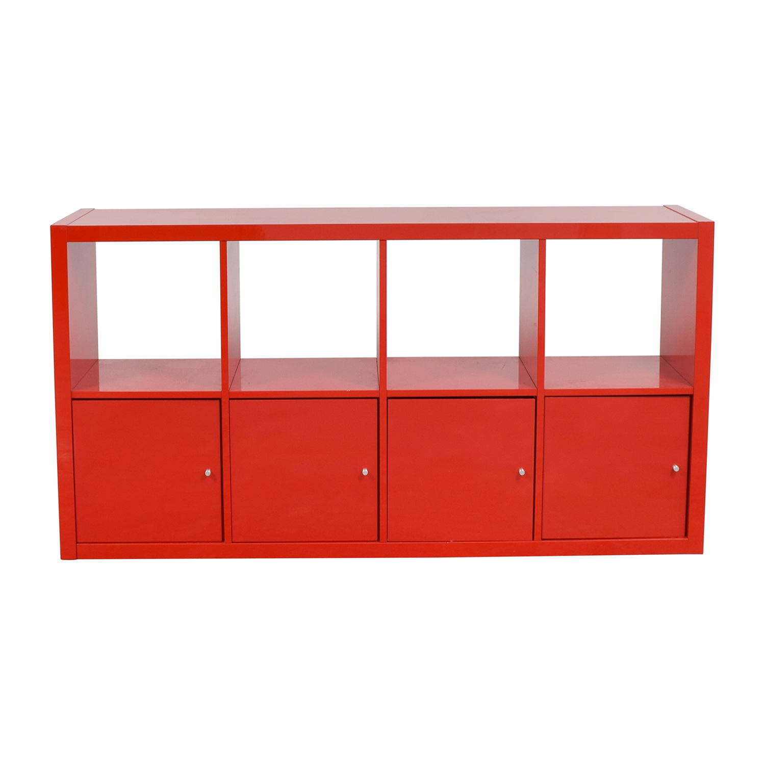 Ikea Storage Cabinets 78 Off Ikea Ikea Red Shelving With Storage Cabinets Storage