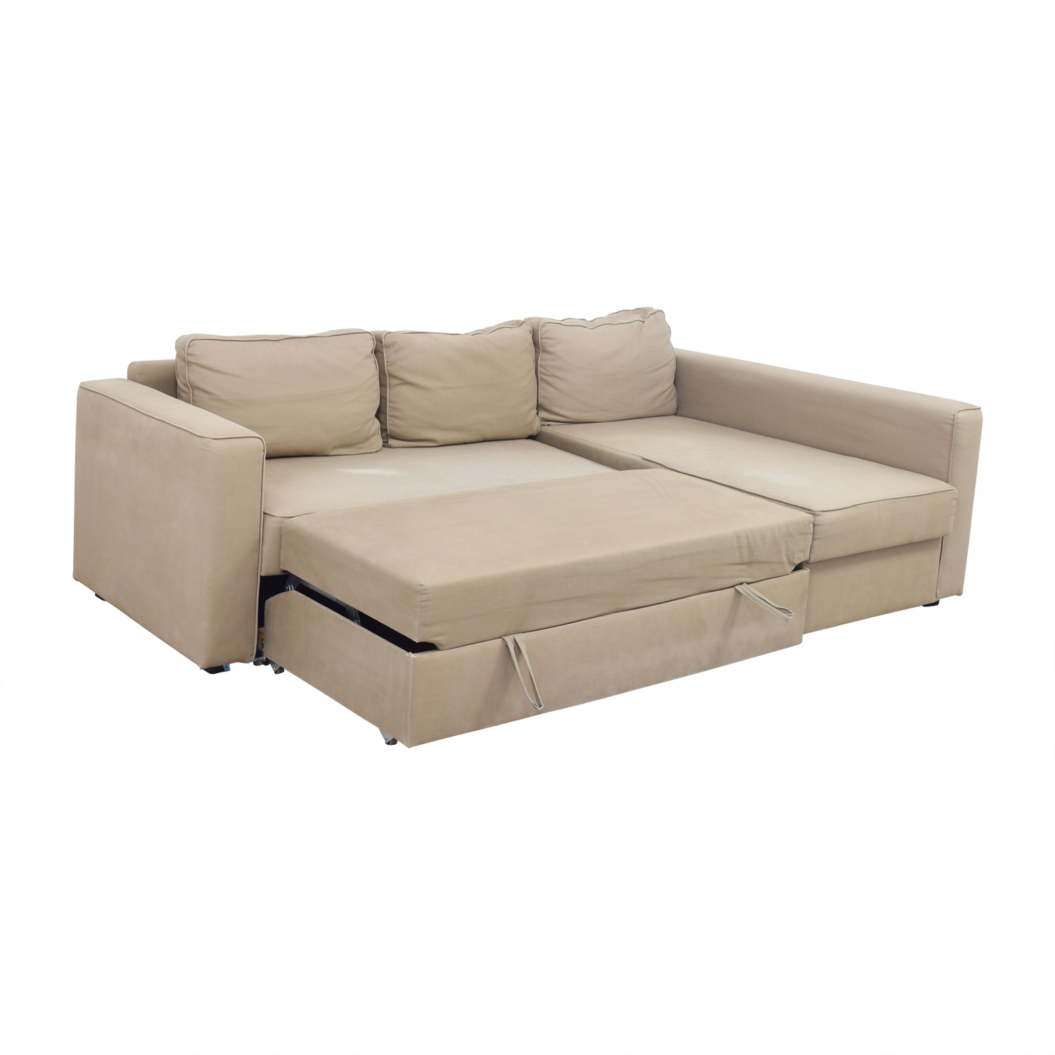 Sofa Bed Ikea 62 Off Ikea Ikea Manstad Sectional Sofa Bed With Storage Sofas