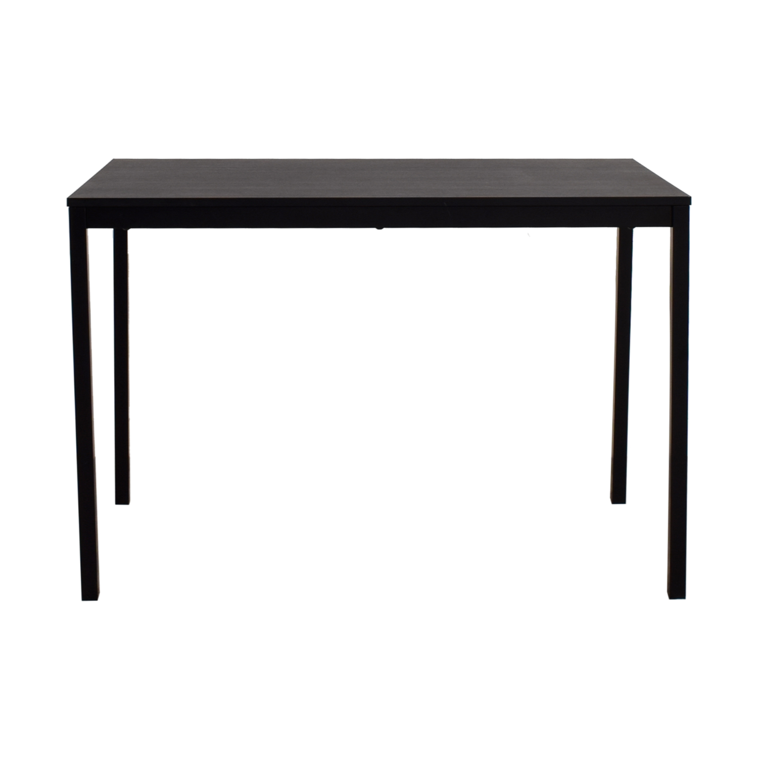 Ikea Dining Table 47 Off Ikea Ikea Tarendo Black Dining Table Tables