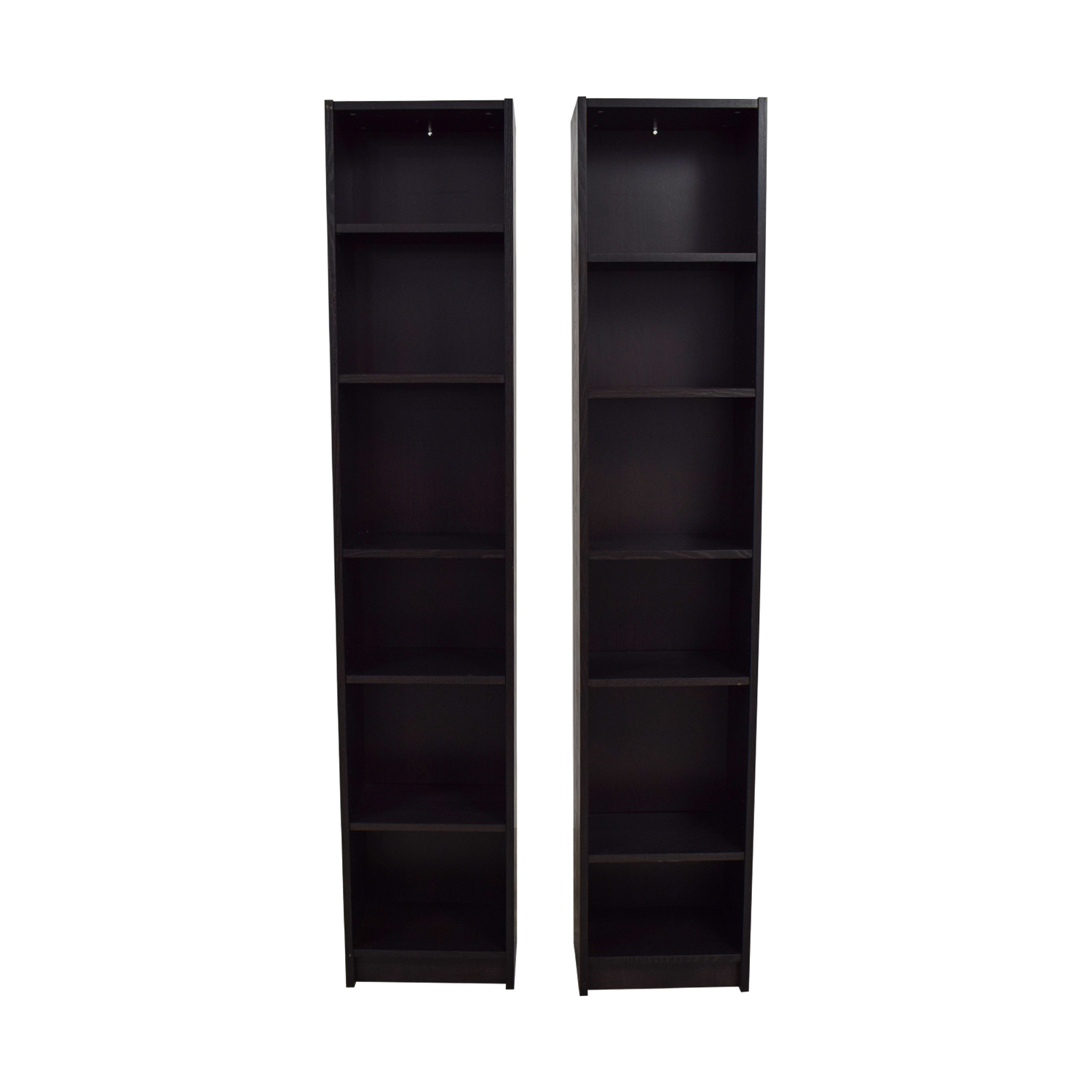 Billy Ikea Dimensions 50 Off Ikea Ikea Billy Tall Narrow Bookcase Storage