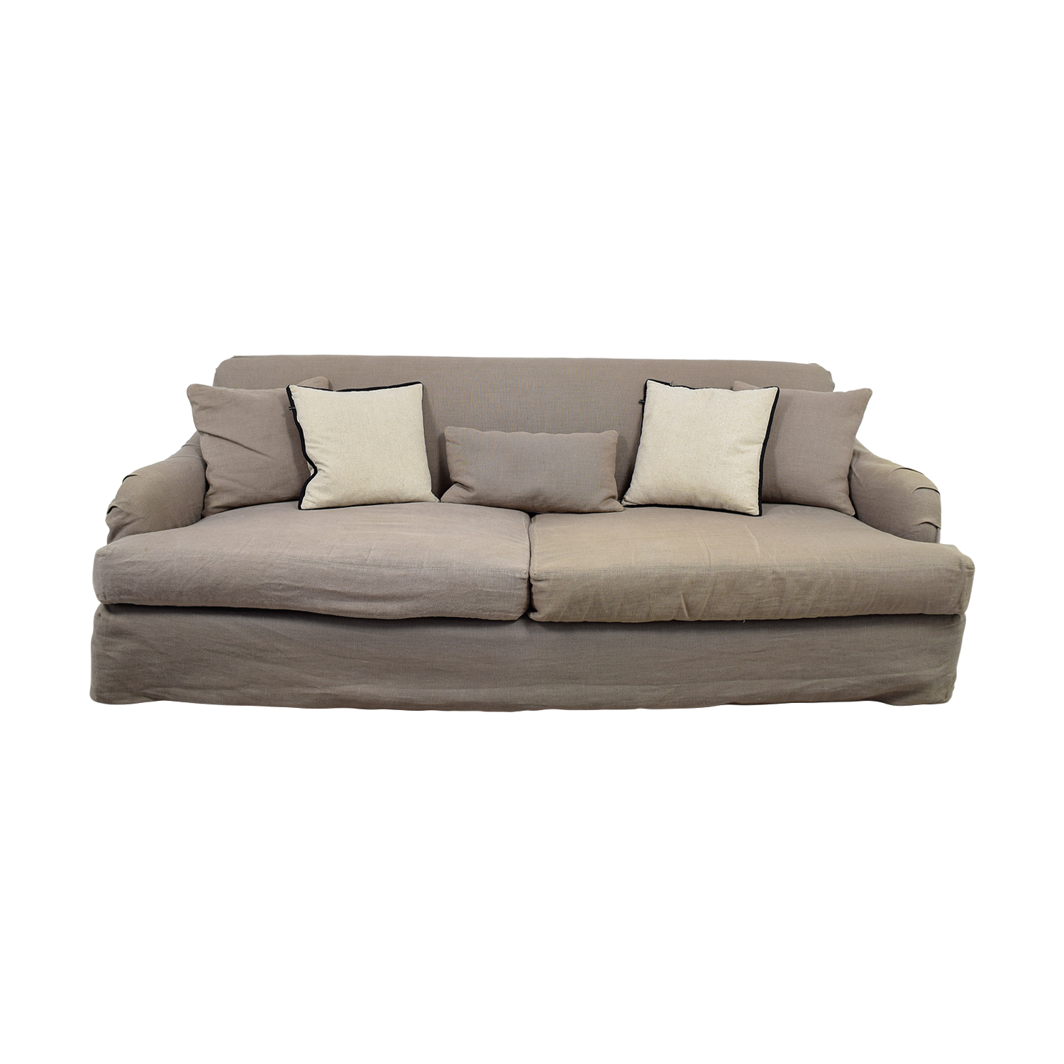 Sofa Outlet Paisley 90 Off Cisco Brothers Cisco Brothers Grey Linen Down Feather