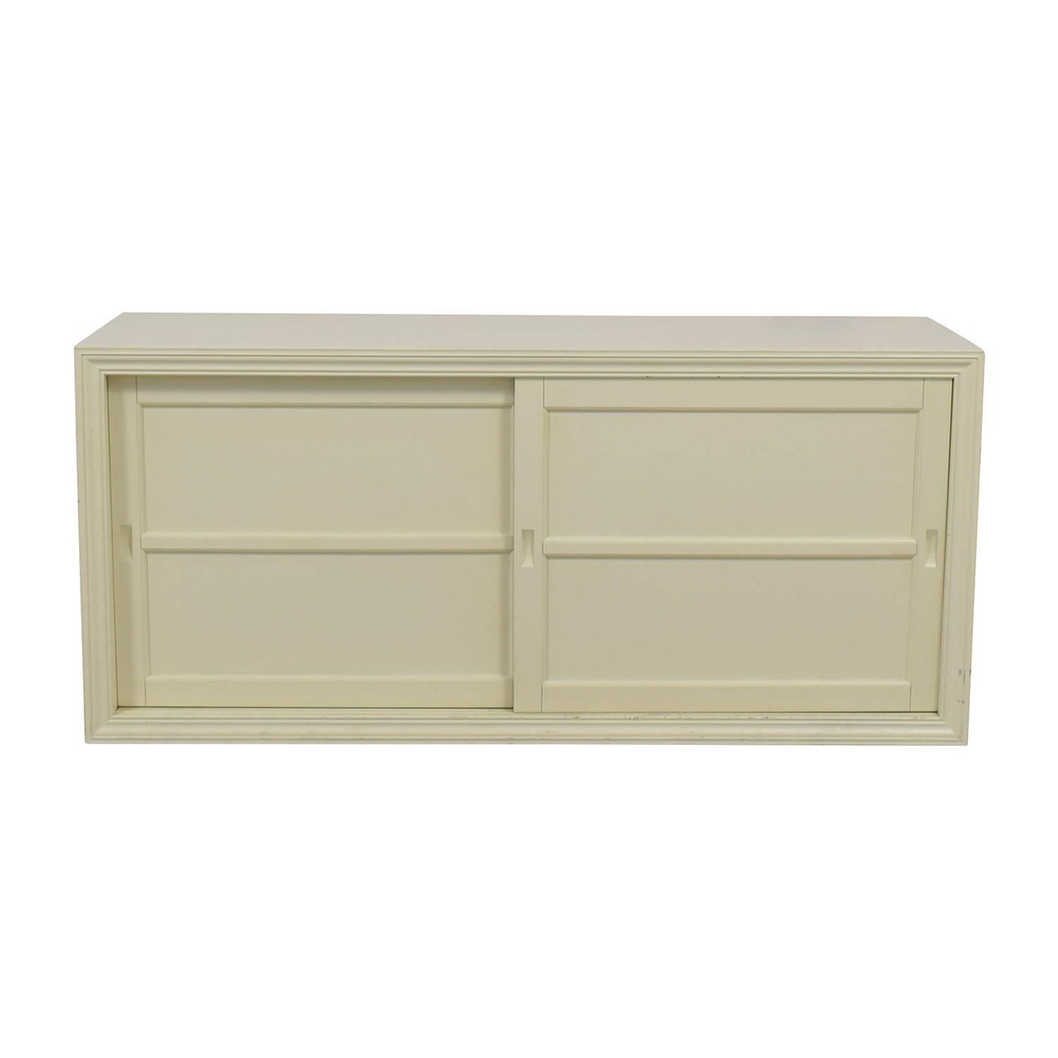Buy Doors Online 81 Off Pottery Barn Pottery Barn Country White Sliding Doors Tv Stand Storage
