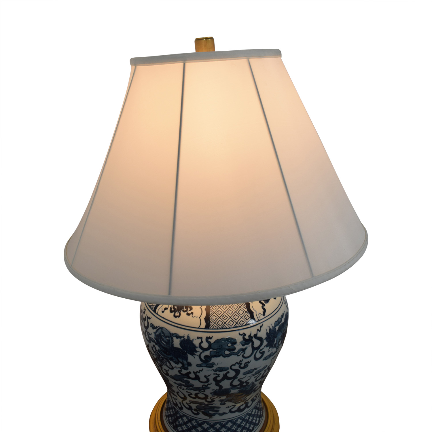 Asian Table Lamp 82 Off Ralph Lauren Home Ralph Lauren Asian Blue And White Table Lamp Decor