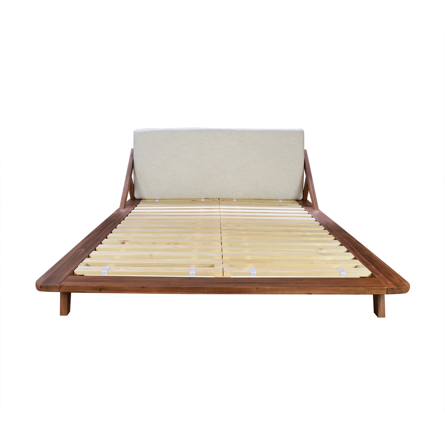 Queen Bed Sale 51 Off Cb2 Cb2 Drommen Acacia Queen Bed Beds