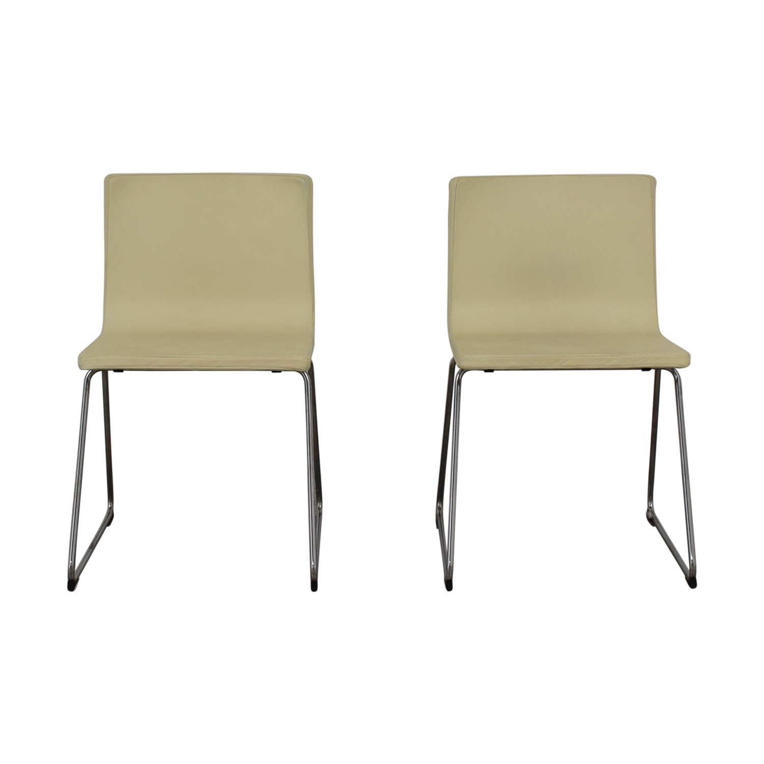 Dining Chairs Ikea 84 Off Ikea Ikea Bernhard Leather Dining Chairs Chairs