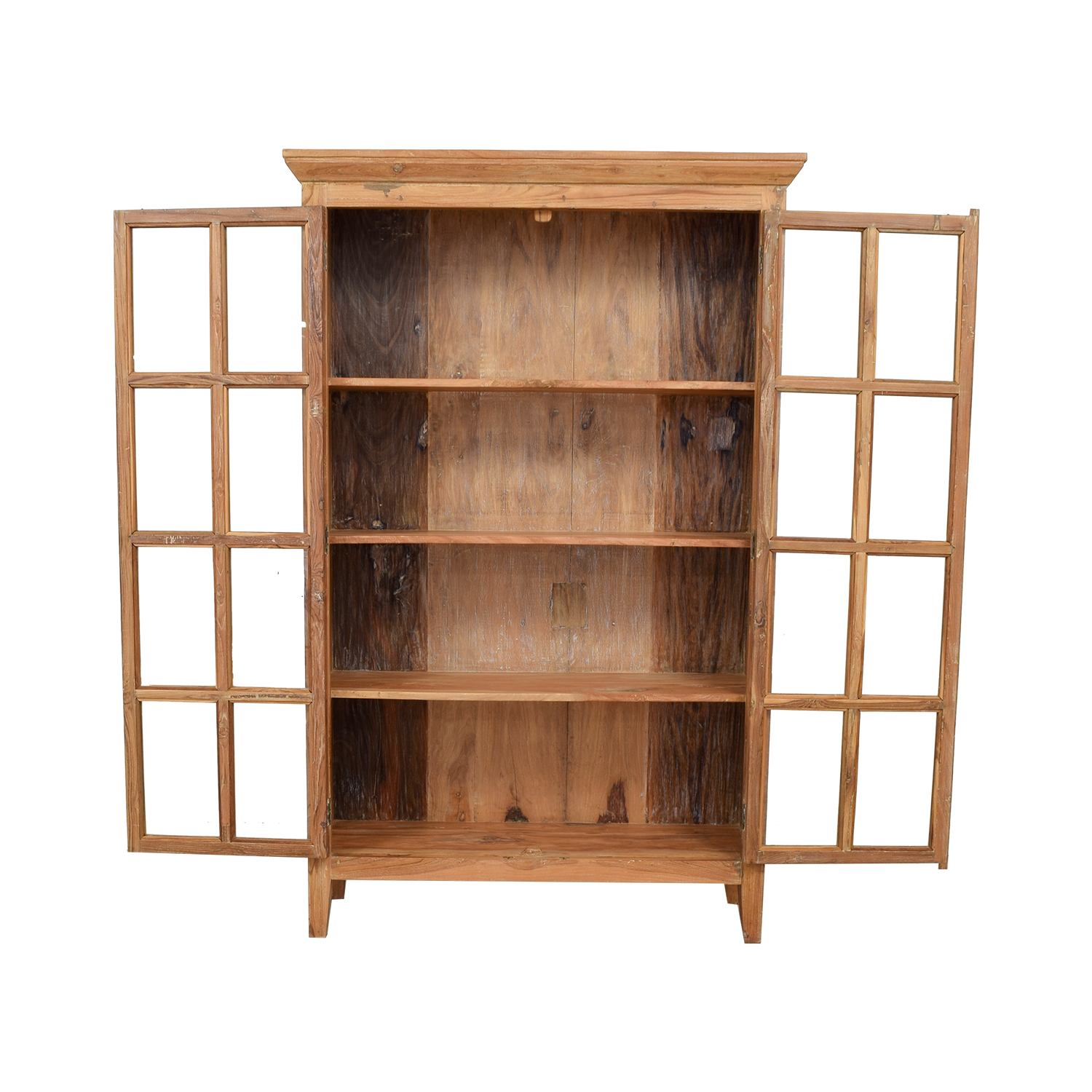 Buy Doors Online 77 Off Wood Hutch With French Doors Storage