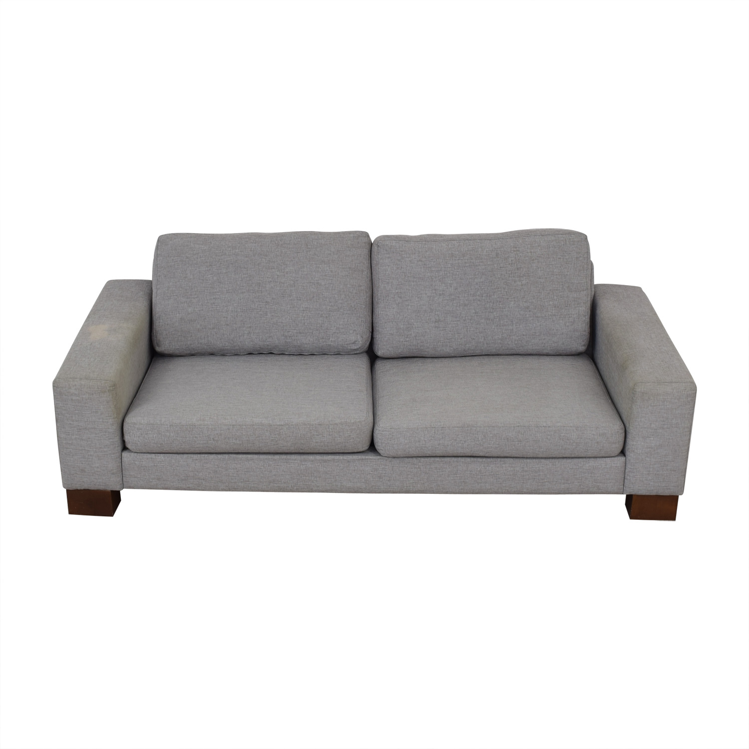 Boconcept Sofa 84 Off Boconcept Boconcept Grey Two Cushion Sofa Sofas