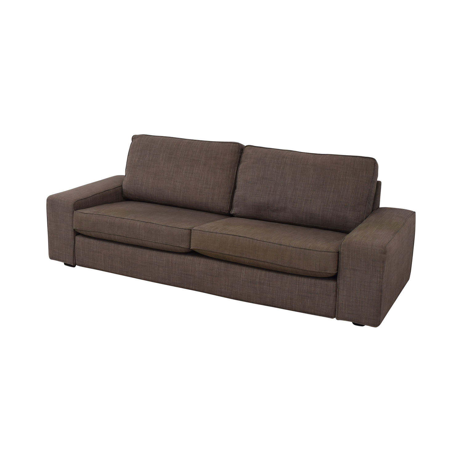 Ikea Karlstad Ecksofa Ikea Carb Sofa Vitra Large Wooden Side Table In Dark Oak By Ronan