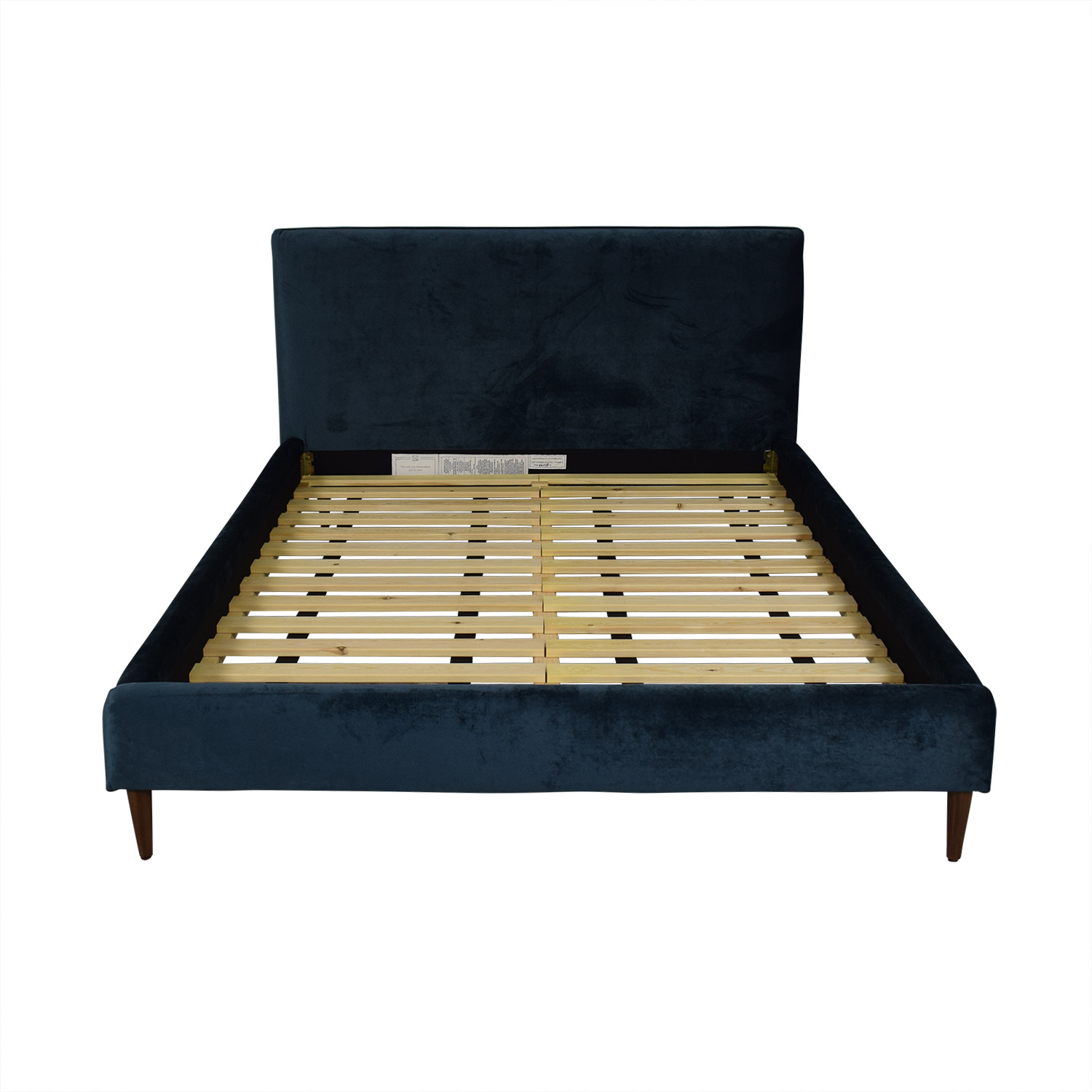 Fabric Bed Frames 80 Off Harper Queen Fabric Bed Frame Beds