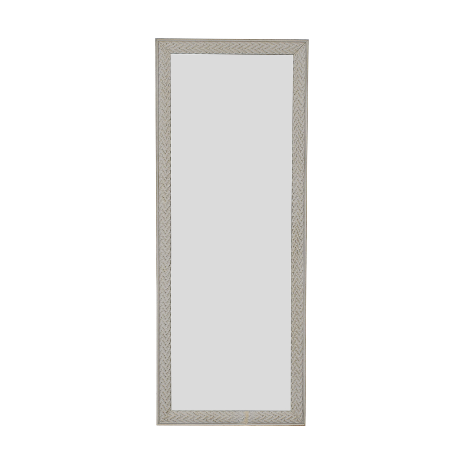 White Floor Mirror 44 Off Homegoods Homegoods White Framed Floor Mirror Decor