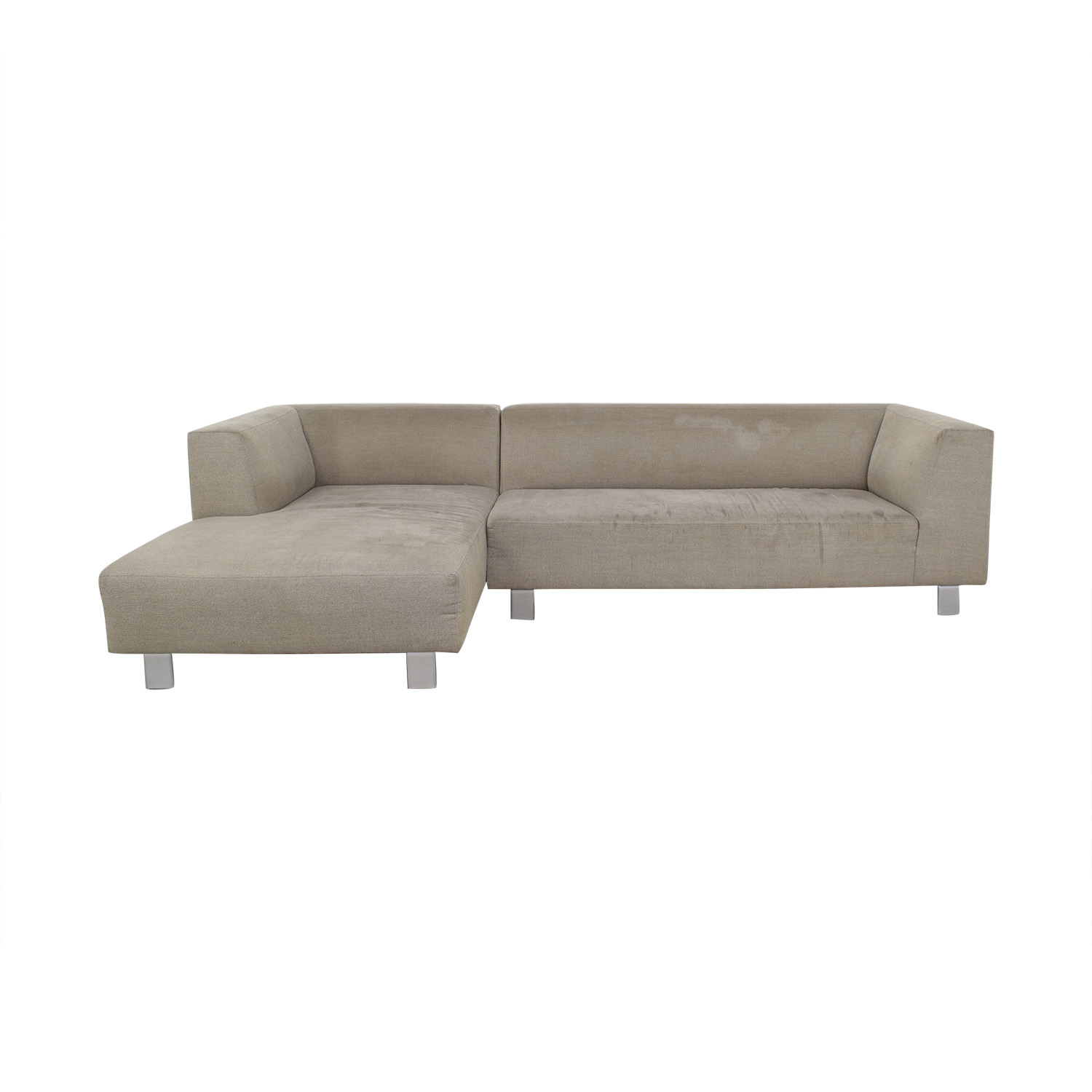 Sofa L Images 84 Off Room Board Room Board Grey L Shaped Couch Sofas