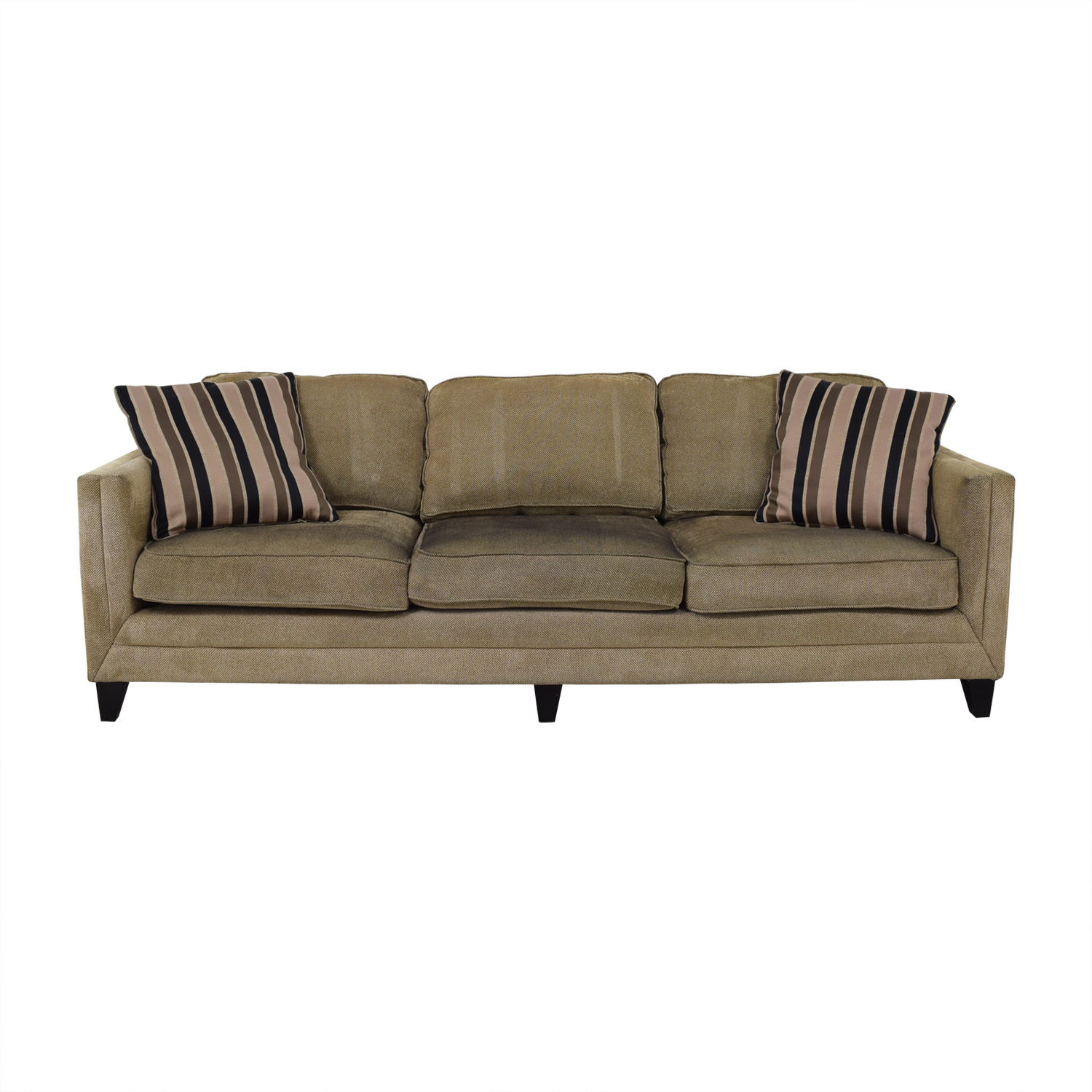 Sofa Modern 77 Off Brown Three Seater Modern Sofa Sofas